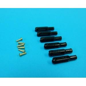 Chape nylon MP Jet M2 axe laiton / 6 pcs