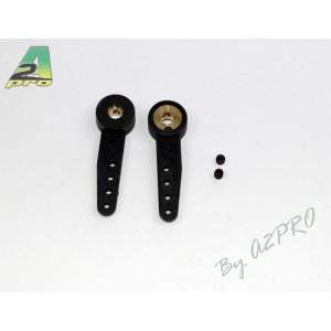 Bras de commande nylon 3 mm 2 pcs