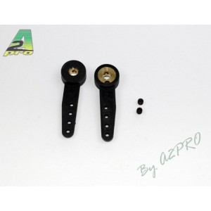 Bras de commande nylon 4 mm 2 pcs