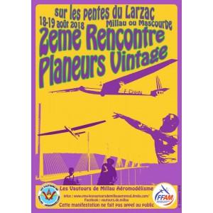 Rencontre Planeurs Vintage Millau  18 et 19 Août