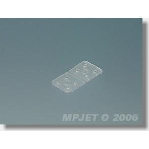 """Micro charnières """"Flex"""" MPJet 3.5x7 mm 12 pcs"""