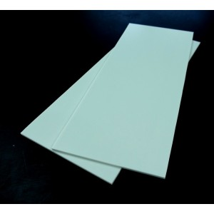Plaque Epoxy  blanche 350x150 mm 40/10