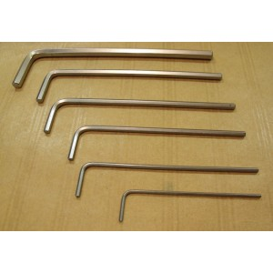 Clé mâle 6 pans  longue KS 2.5 mm