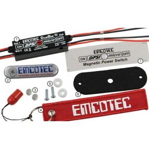 DPSI Micro DualBat 5.9V / 7.2V  EMCOTEC