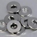 Rondelles plates Inox Moyenne M 3  20 pcs