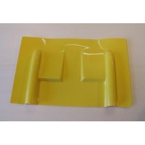 Carénage en fibre pour servo débordant  / Jaune