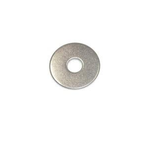 Rondelles plates Inox Large  M 4 20 pcs