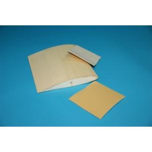 Feuille papier de verre + mousse souple  Grain 320