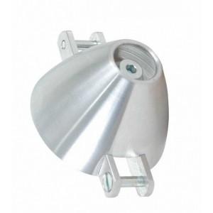 Cône alu ventilé 30 mm pour axe moteur 3 mm