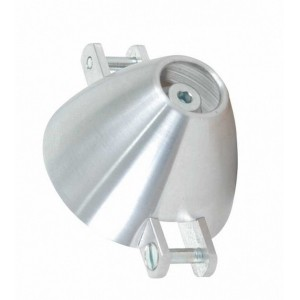 Cône Turbo  30 mm axe 3.17 mm  Pied Pale 6 mm