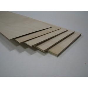 Contreplaqué de Bouleau 3 mm 3 plis 750x500 mm