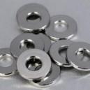 Rondelles plates Inox Moyenne M 4  20 pcs