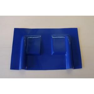 Carénage en fibre pour servo débordant  / Bleu